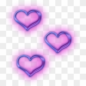 157 1570919 transparent neon purple heart banner black and white