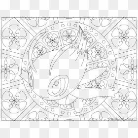 Pokemon Eevee Evolutions Coloring Pages - Eevee - 900x900 PNG ... | 280x280