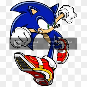 Real Life Sonic Adventure 2 Shoes Hd Png Download Vhv